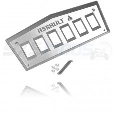 Assault Industries Dashboard Switch Panel for the Yamaha YXZ1000R