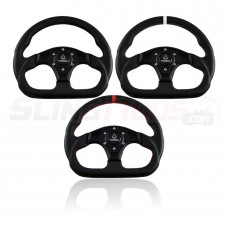Assault Industries D-Shape Series Universal Six Bolt Steering Wheel