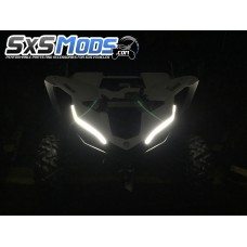 TricLED Smoked Tube Eyebrows for your YXZ1000R
