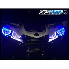 TricLED Halo HeadLight Rings for the Yamaha YXZ1000R (Set of 4)