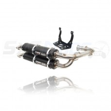 Trinity Racing Dual Full Exhaust System for the Can-Am Maverick X3